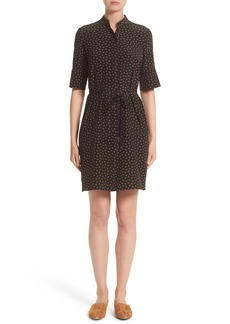 Lafayette 148 New York Randi Dansk Ditsy Crêpe De Chine Dress