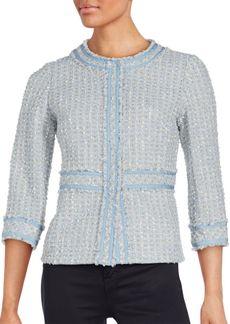 Lafayette 148 New York Reagan Wool-Blend Tweed Jacket