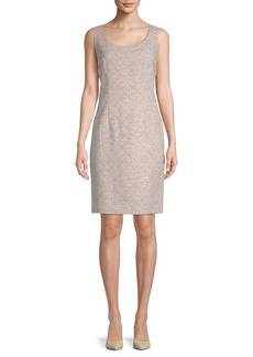 Lafayette 148 Rebecca Scoopneck Sheath Dress