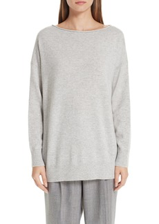 Lafayette 148 New York Relaxed Cashmere Sweater
