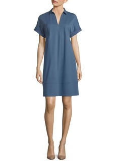 Lafayette 148 Relaxed-Fit Shift Dress