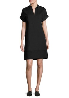 Lafayette 148 New York Relaxed-Fit Shift Dress