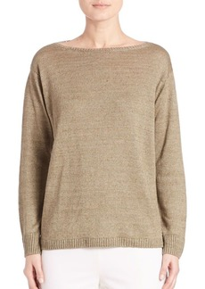 Lafayette 148 New York Relaxed Hemp Sweater