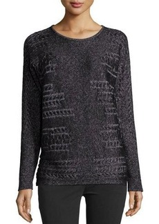 Lafayette 148 New York Relaxed Knit Sweater
