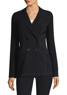 Renee Contrast Pickstitch Jacket