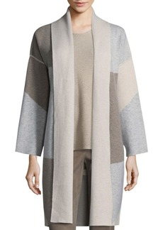 Lafayette 148 New York Reversible Felted Cashmere Cardigan