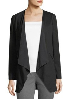 Lafayette 148 New York Reversible Open-Front Jacket