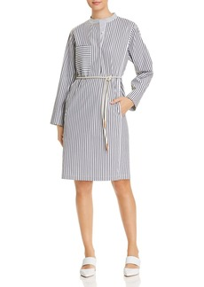 Lafayette 148 New York Rexana Striped Shirt Dress