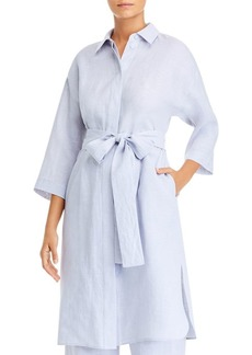 Lafayette 148 New York Rhodes Duster Shirt Dress
