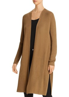 Lafayette 148 New York Ribbed Open Duster Cardigan