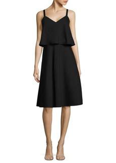 Lafayette 148 New York Riri Solid Sleeveless Dress