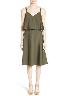Lafayette 148 New York Riri Stretch Cotton Dress