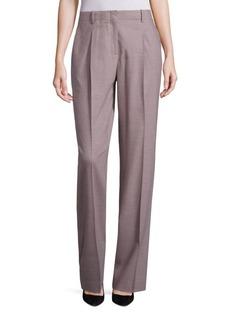 Rivington Finite Italian Flannel Wide-Leg Pants