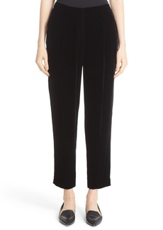 Lafayette 148 New York 'Rivington' Velvet Ankle Pants