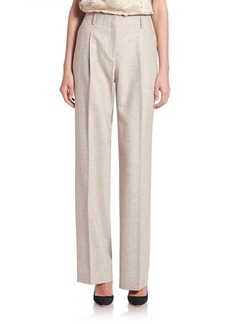 Lafayette 148 New York Rivington Wool & Silk Pants