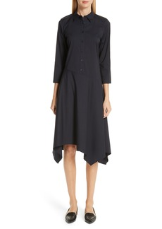 Lafayette 148 New York Rizzo Asymmetrical Shirtdress