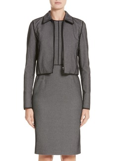 Lafayette 148 New York Romina Check Jacket