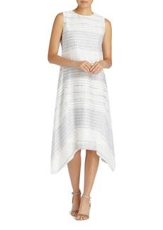 Lafayette 148 New York Romona Linen Blend Dress