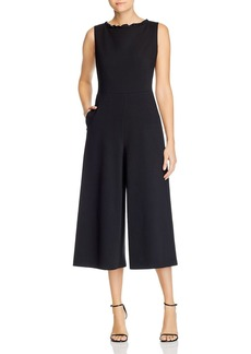 Lafayette 148 New York Rooney Sleeveless Cropped Jumpsuit