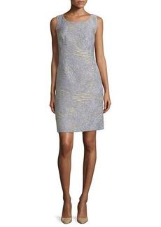 Lafayette 148 New York Rosalind Sleeveless Printed Sheath Dress