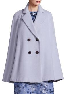 Rosanna Alpaca & Virgin Wool Cape Coat