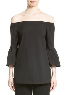 Lafayette 148 New York Rosario Off the Shoulder Blouse