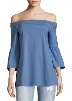 Lafayette 148 Rosario Off-The-Shoulder Top