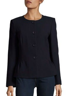 Lafayette 148 New York Ross Textured Wool Jacket
