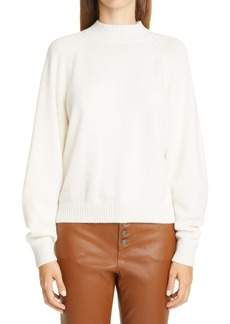 Lafayette 148 New York Round Sleeve Cashmere Sweater