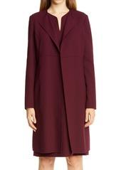 Lafayette 148 New York Russo Longline Wool Coat