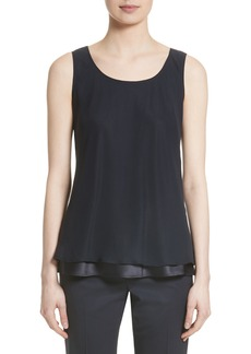 Lafayette 148 New York Ryan Layered Silk Blouse (Nordstrom Exclusive)