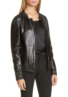 Lafayette 148 New York Rylan Leather Jacket