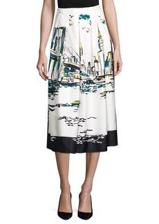 Lafayette 148 Sabilla Silk New York Skirt