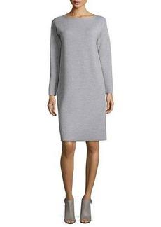 Lafayette 148 New York Scoop-Neck Merino Wool Dress