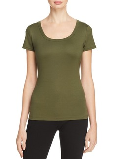 Lafayette 148 New York Scoop Neck Tee