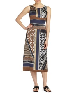 Sebella Sleeveless Silk Dress