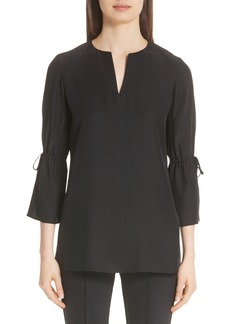 Lafayette 148 New York Sela Silk Blouse (Nordstrom Exclusive)