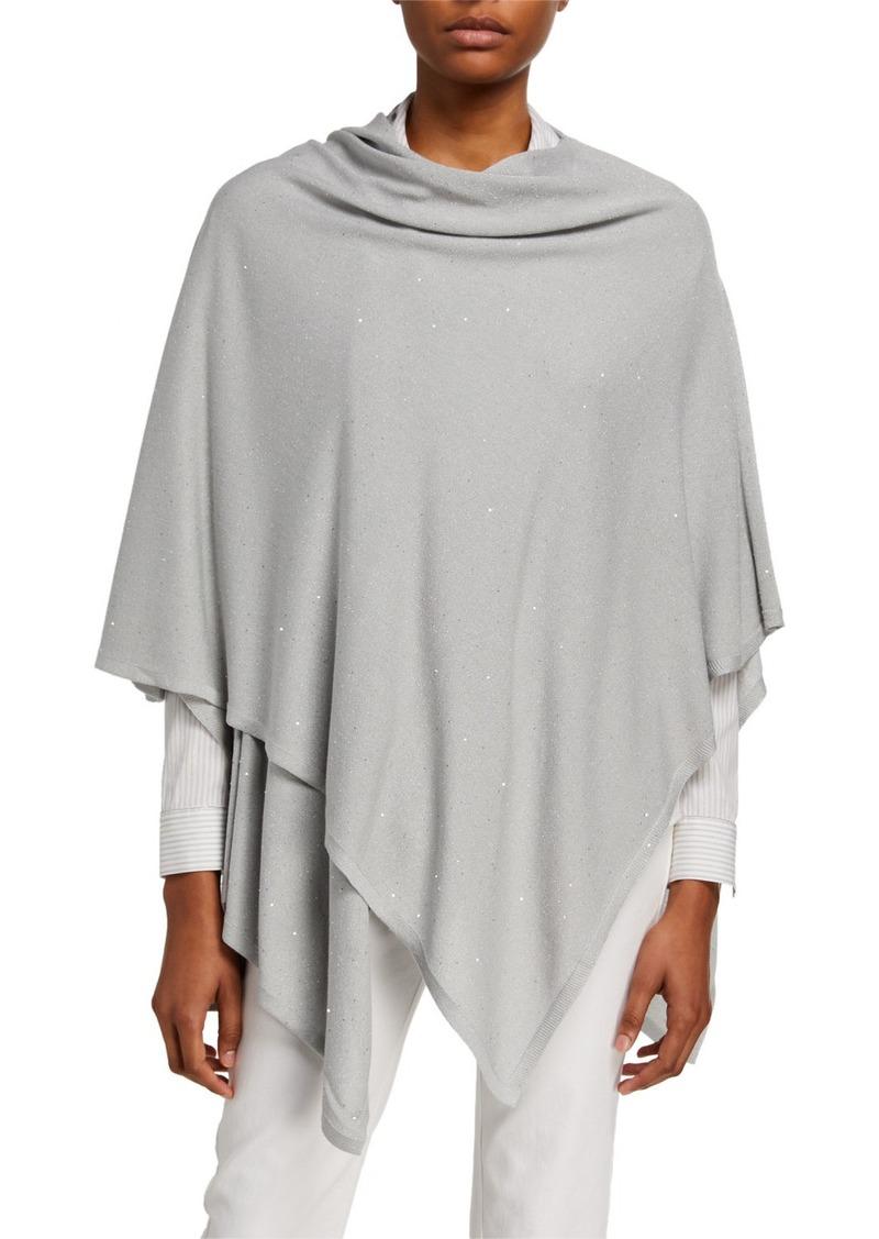 Lafayette 148 New York Sequin Silk Wrap