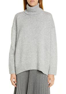 Lafayette 148 New York Sequin Turtleneck Sweater