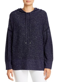 Lafayette 148 New York Sequined Hooded Sweater