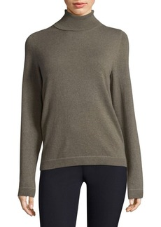 Lafayette 148 Sequined Trim Pullover Sweater