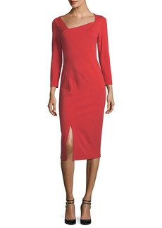 Lafayette 148 New York Shia Punto Milano Sheath Dress