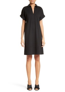 Lafayette 148 New York Seam Detail Shift Dress