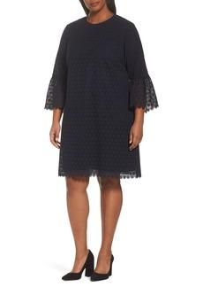 Lafayette 148 New York Sidra Lace Shift Dress (Plus Size)