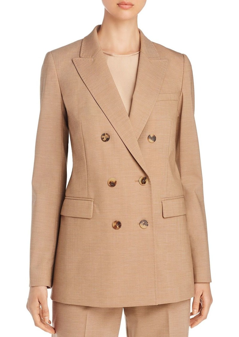 Lafayette 148 New York Slade Double-Breasted Jacket