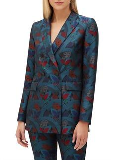 Lafayette 148 New York Slade Muse Jacquard Jacket