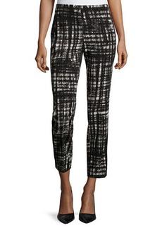 Lafayette 148 New York Slim-Leg Pants W/Side Stripe