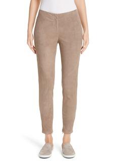 Lafayette 148 New York Slim Suede Pants