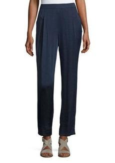 Lafayette 148 New York Soho Luminous Cloth Track Pants