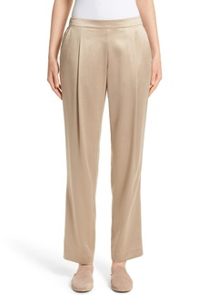 Lafayette 148 New York Soho Silk Track Pants